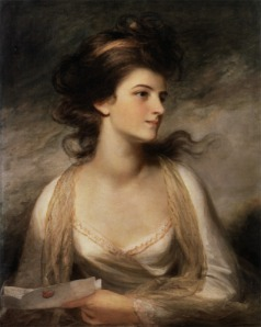"""Portrait of a Lady"" by John Hoppner"