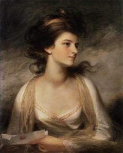 """""""Portrait of a Lady"""" by John Hoppner"""