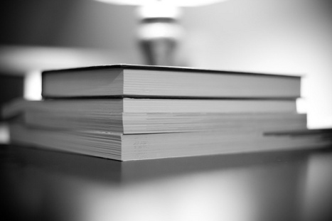 """Stack of Books - 023"" by Daniel Weber via Flickr"