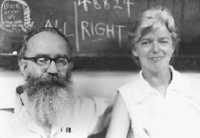 Damon Knight and Kate Wilhelm, Clarion Conference 1974