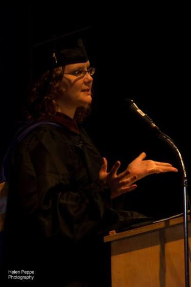 Graduate Andrea Lani